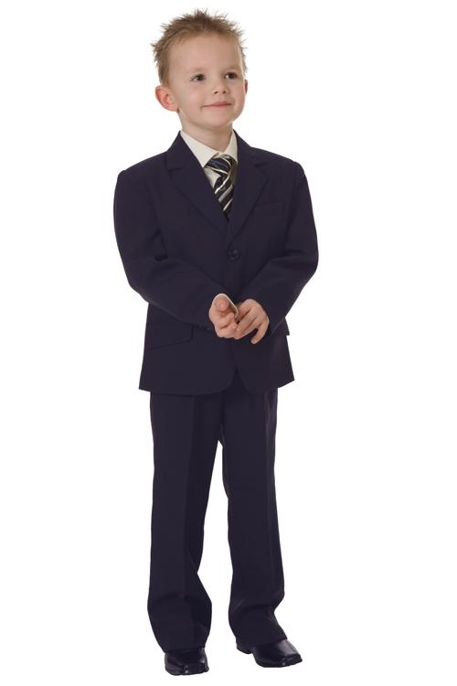 Jongens kostuum donkerblauw- 92
