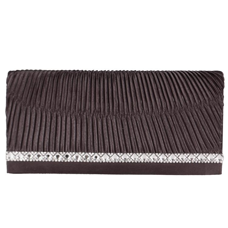 bf6535e185b Stijlvol zwart avondtasje met een randje kleine strass steentjes. het tasje  is ook te gebruiken