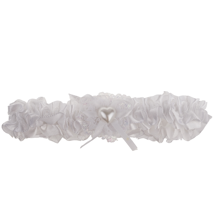 Kousenband wit-