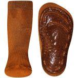 Antislip sokken Warm Okergeel