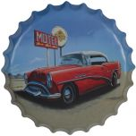 Bierdop/kroonkurk auto motel