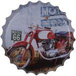 Bierdop/kroonkurk motor motel 66