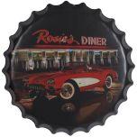 Bierdop/kroonkurk rosies diner