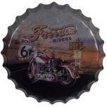 Bierdop/kroonkurk freedom riders