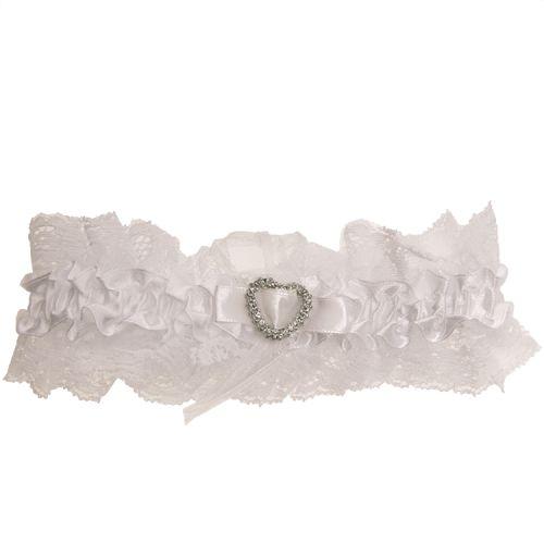 Kousenband wit