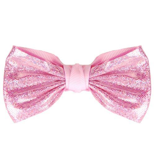 Haarspeldje strikje roze