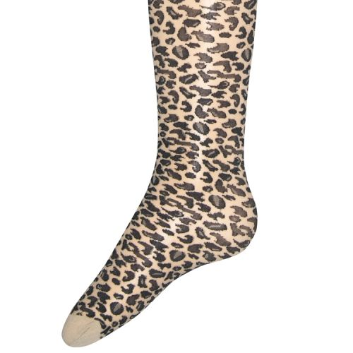 Panty met luipaard printje