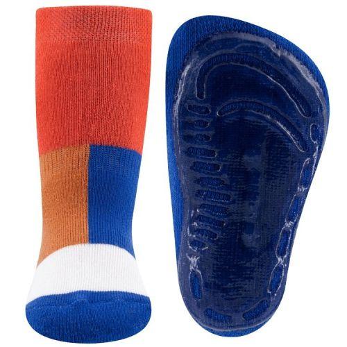 Antislipsok Kleurvakken Oranje/Blauw/Wit