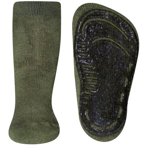 Antislip sokken Olijfgroen
