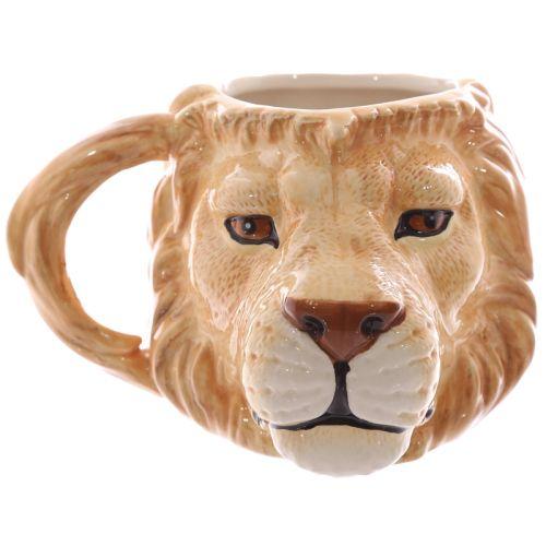 Beker leeuw hoofd