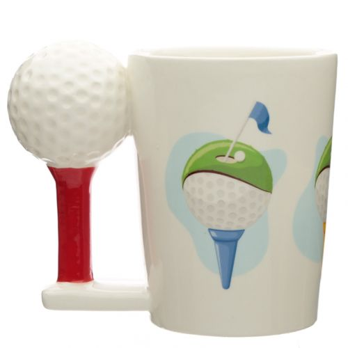 Beker handvat Golfbal