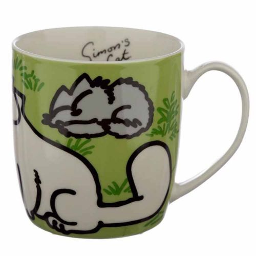 Beker Simon's Cat groen