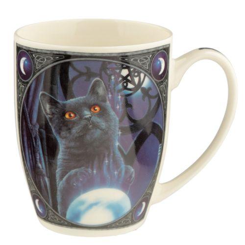 Beker zwarte kat lisa parker