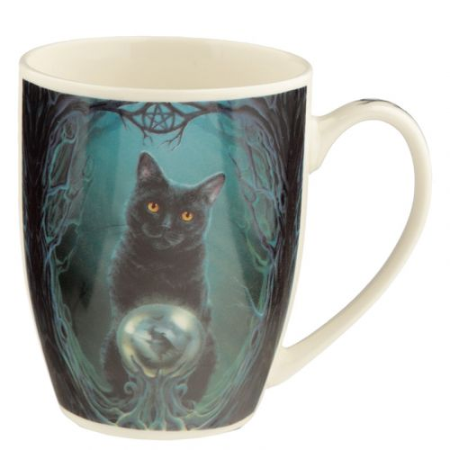 Beker kat Lisa Parker - rise of the witches cat
