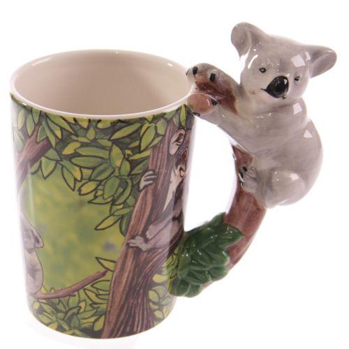 Beker met koala handvat