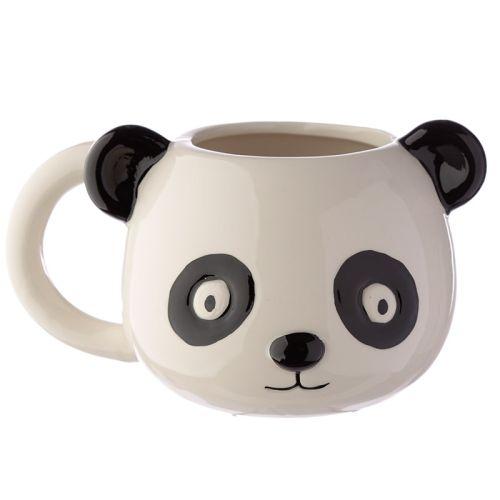 Beker panda hoofd