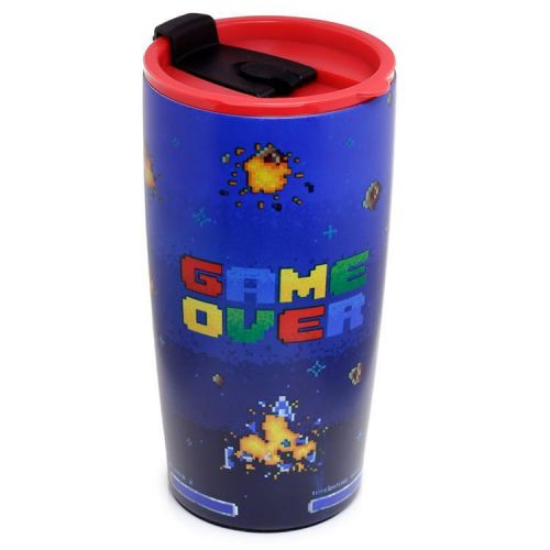 RVS Thermobeker 550ml - Game Over