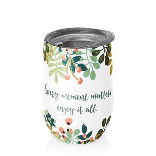 RVS kantoorbeker thermobeker 420ml - Every moment matters