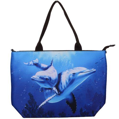 Handtas groot dolfijn