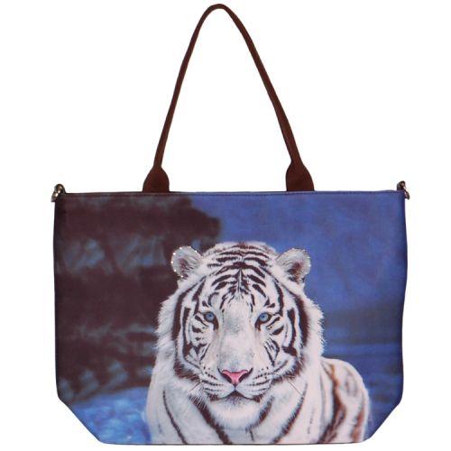 Handtas groot tijger