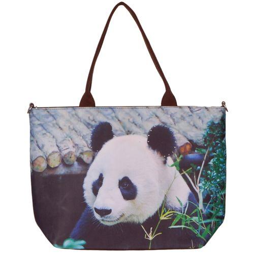 Handtas groot panda
