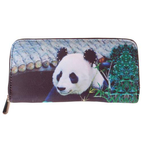 Portemonnee groot panda
