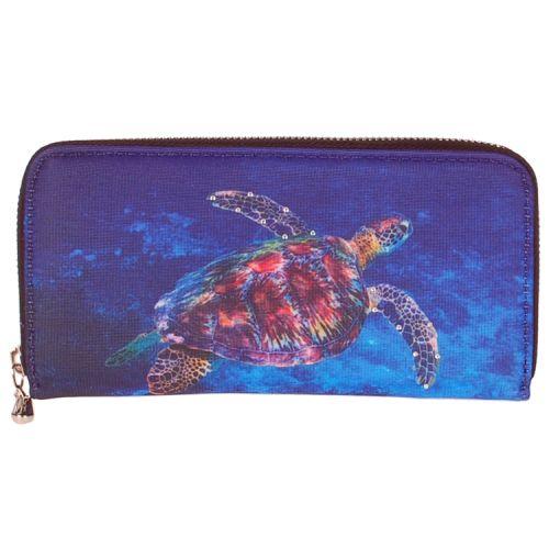 Portemonnee groot zeeschildpad