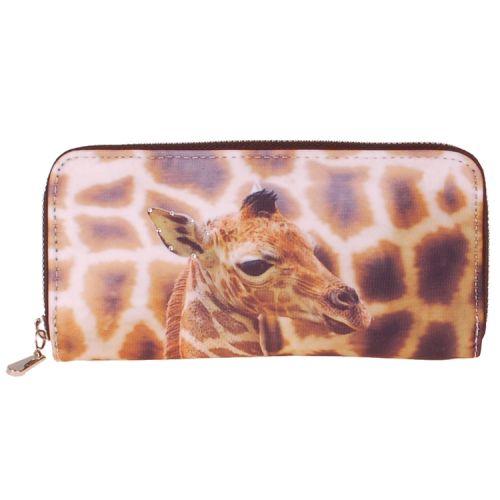Portemonnee groot giraf