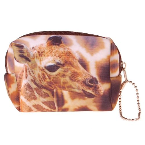 Kleine etui/klein toilettasje giraffe