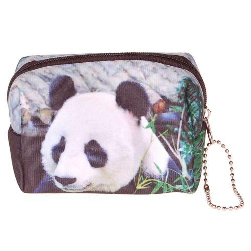 Kleine etui/klein toilettasje panda