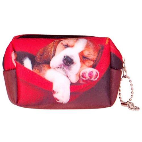 Kleine etui/klein toilettasje Beagle