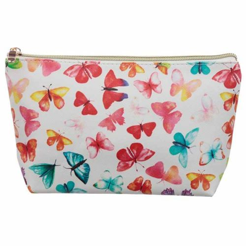 Toilettas medium vlinders