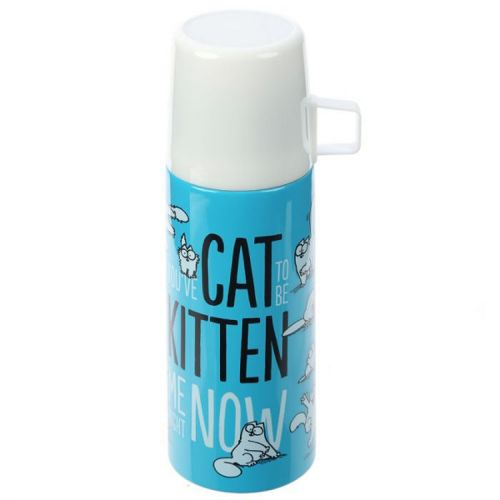 Thermosfles RVS 350ml - Simon's Cat