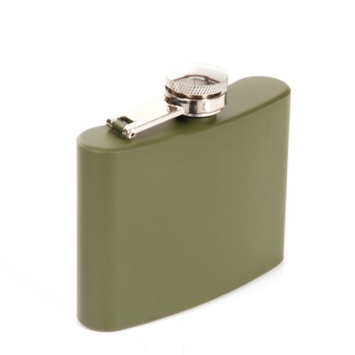 Zakfles/heupflacon groen 120ml