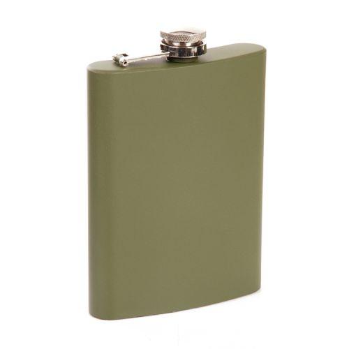 Zakfles/heupflacon groen 240ml