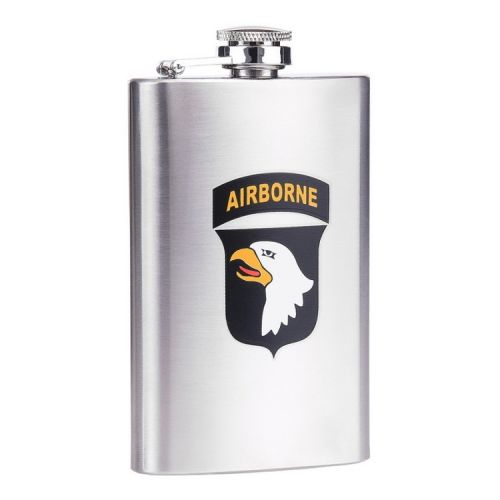 Zakfles/heupflacon RVS 150ml - 101st Ariborne