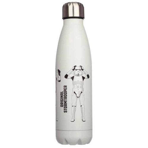 Thermosfles RVS 500ml - Stormtrooper wit