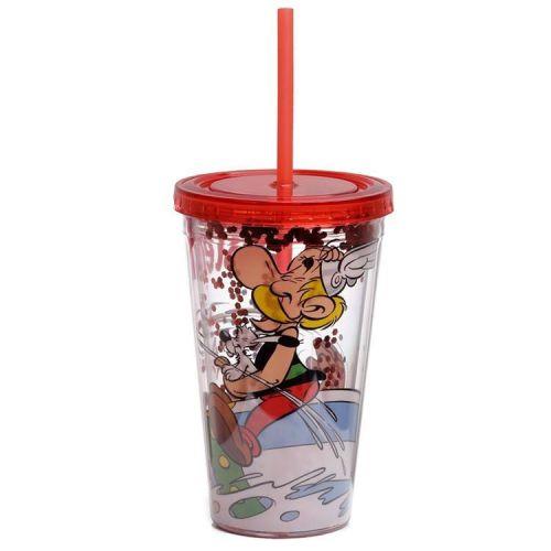 Drinkbeker met rietje - Asterix