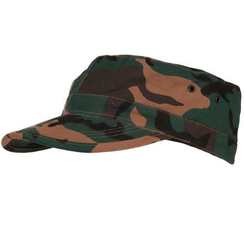 Veldpet camouflage groen
