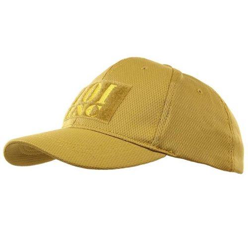 Kinderpet bruin/geel met 101 INC logo