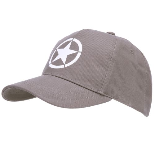Baseballcap Allied star WWII grijs