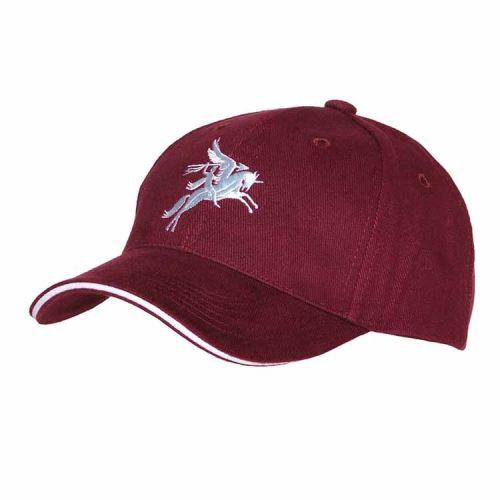 Baseballcap Airborne Arnhem Pegasus bordeaux