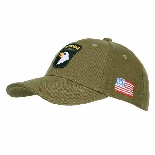 Baseballcap Airborne groen