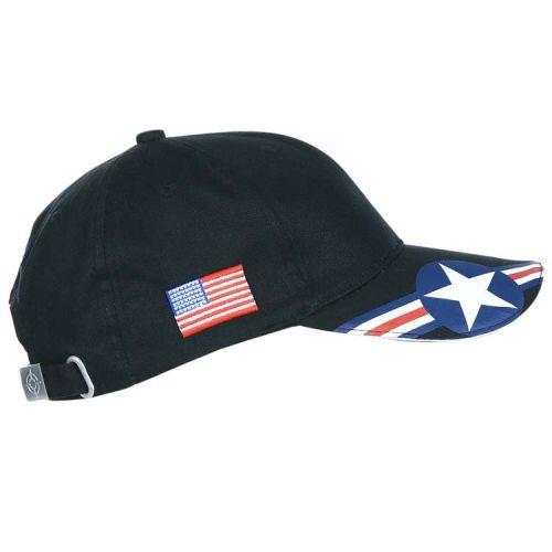 Baseballcap US Air Force - USAF -Zwart