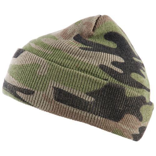 Commando muts camouflage groen