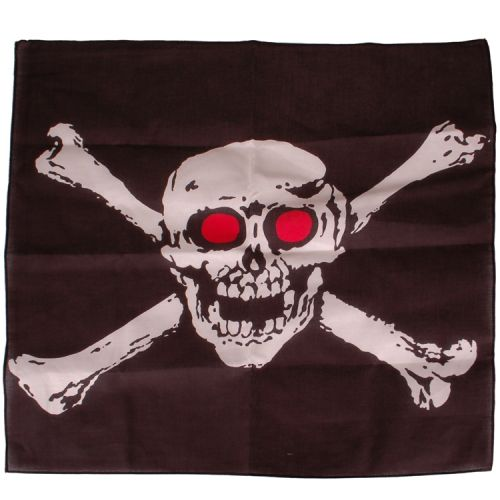 Bandana/Doek Piraten - Jolly Roger 50x50