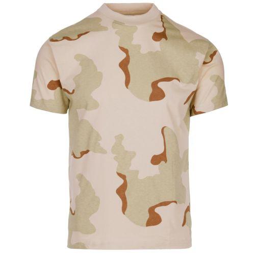 T-shirt camouflage dessert