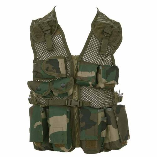 Kinder tactical vest camouflage