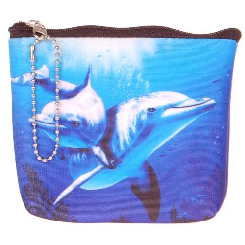 Kleine portemonnee dolfijn