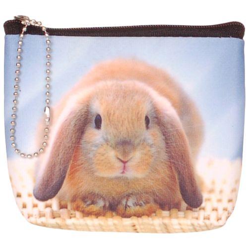 Kleine portemonnee konijn